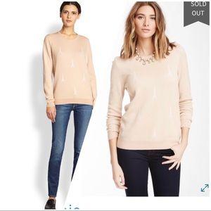 Joie Eiffel Towel Sweater